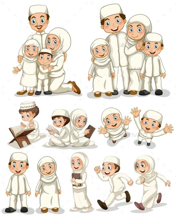 Muslim - People Characters
