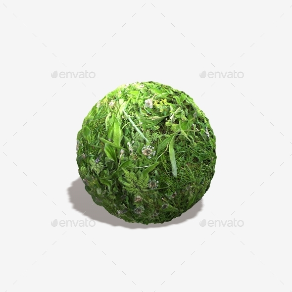 Riverbank Weeds Seamless Texture