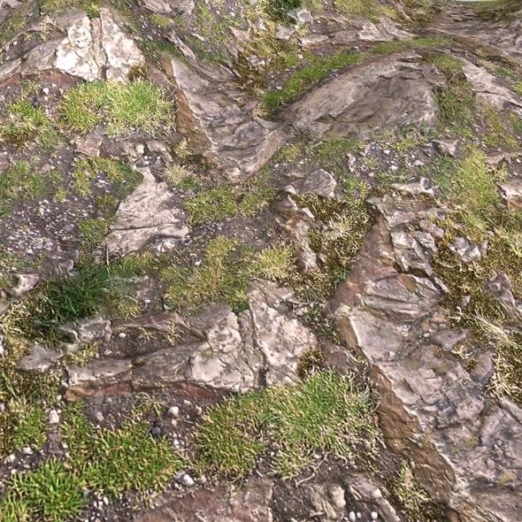 Rocky Hillside Seamless Texture By Lucky Fingers 3docean
