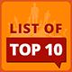 List Of Top 10