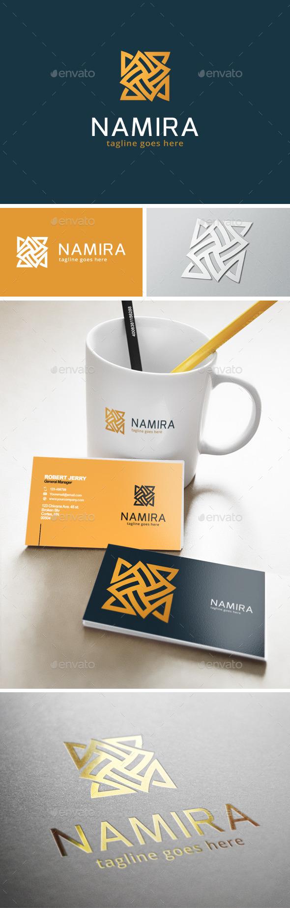 Namira Logo - Abstract Logo Templates