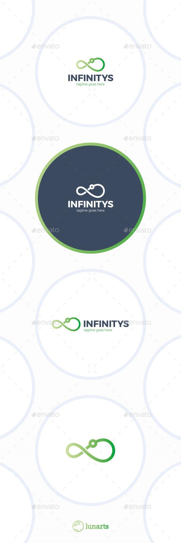 Infinity Signal Logo - Symbols Logo Templates
