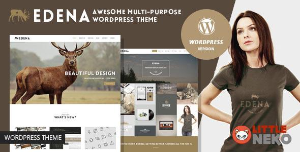 EDENA | Multipurpose WordPress Theme - Business Corporate
