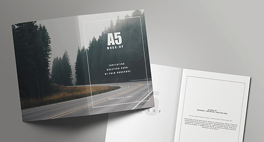 Greeting cards Mock-Ups