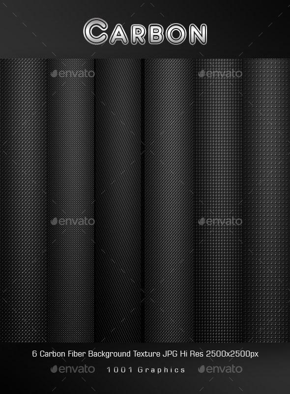 Carbon Fiber Texture  - Backgrounds Graphics