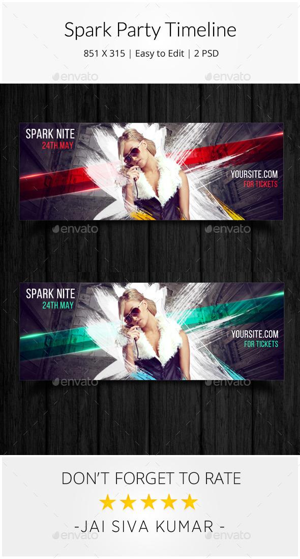 Spark Party Timeline - Facebook Timeline Covers Social Media