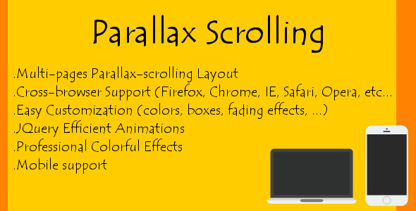 Parallax Scrolling - CodeCanyon Item for Sale