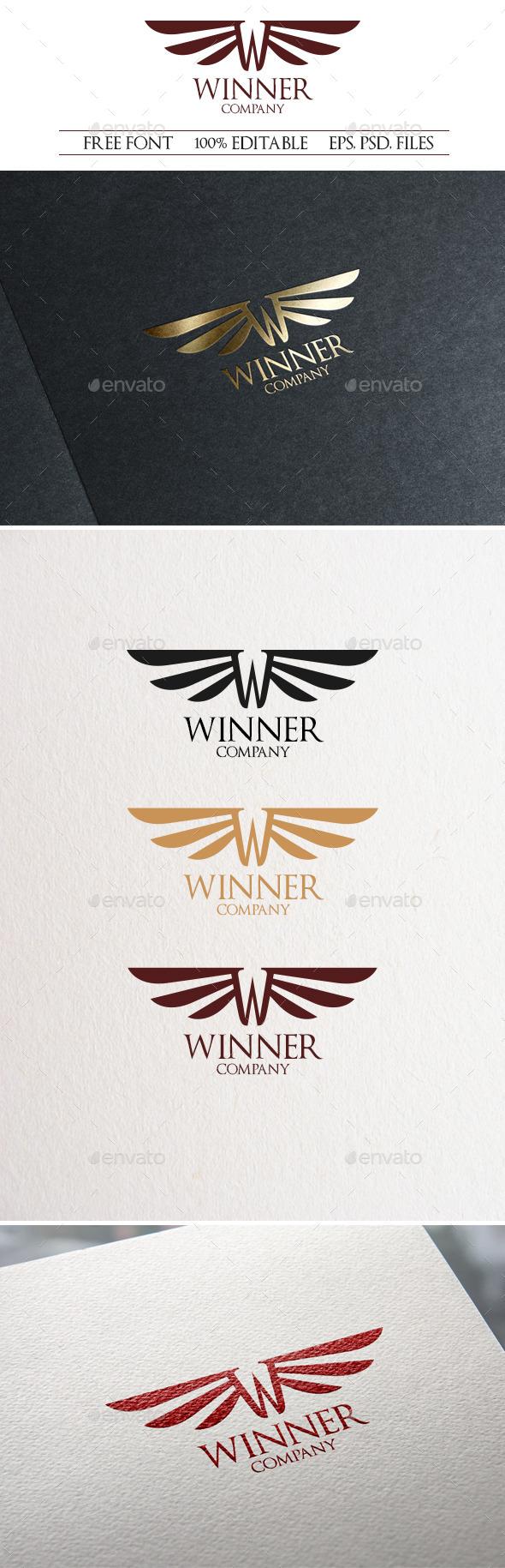 Winner Logo - Letters Logo Templates