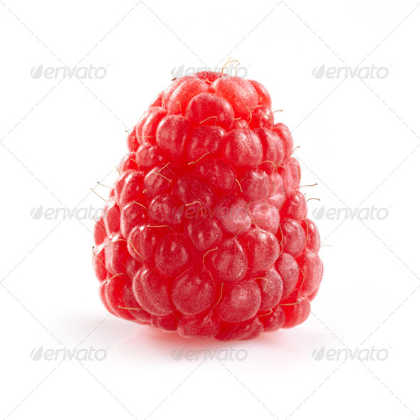 fresh raspberry - Stock Photo - Images