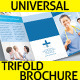 Universal Trifold Brochure - GraphicRiver Item for Sale