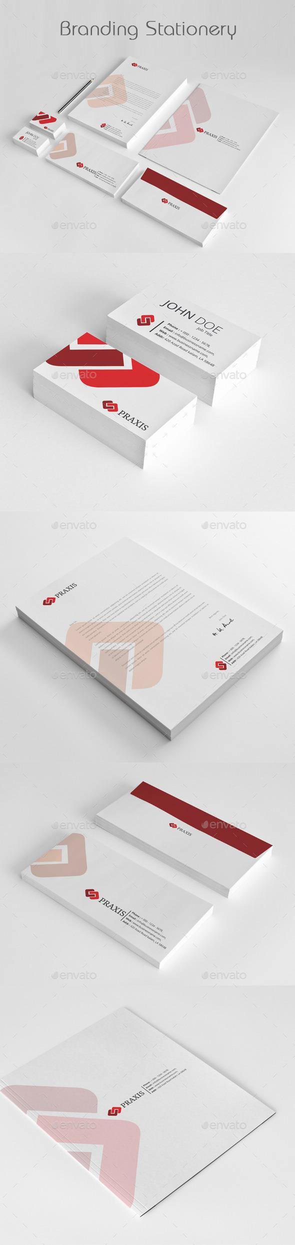 Branding Stationery Templates - Stationery Print Templates