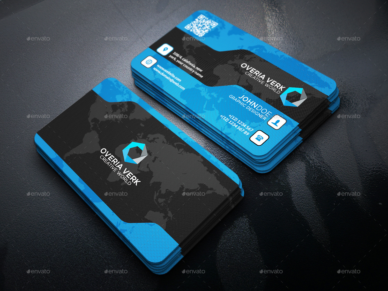 Sitial Creative Business Card Template by SOHdesign | GraphicRiver