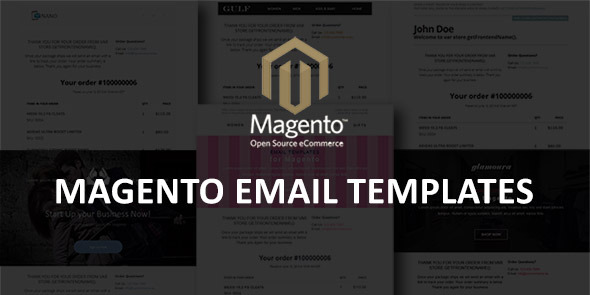Magento Email Templates by jopin | CodeCanyon