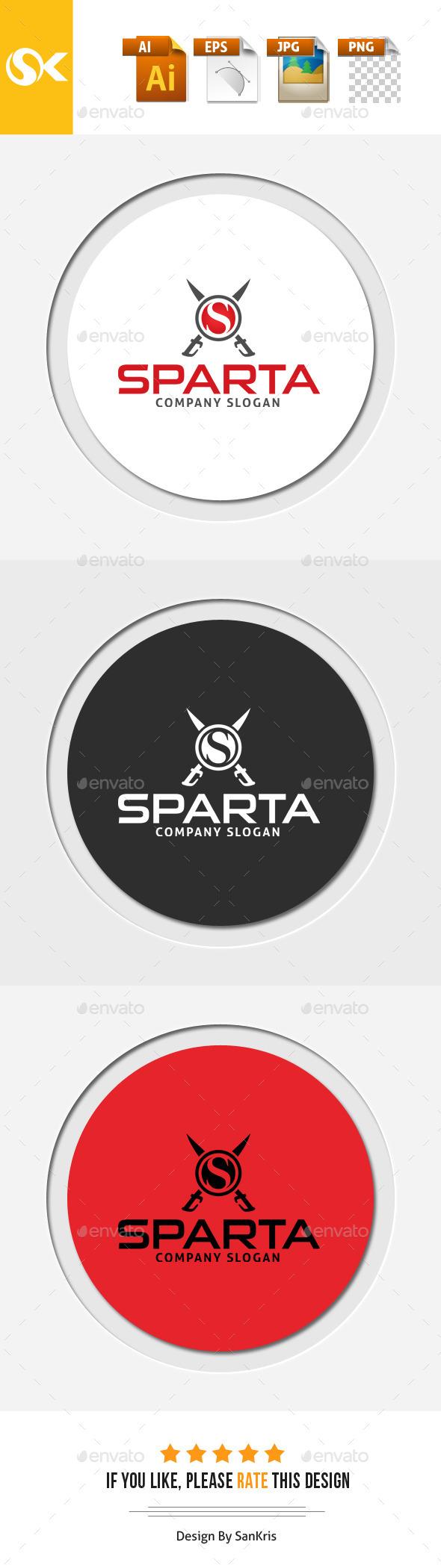 Sparta S Letter Logo Template - Symbols Logo Templates