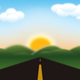 Road to Mountains - GraphicRiver Item for Sale
