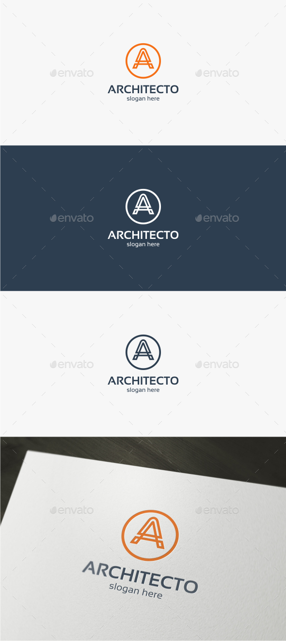 Architecto Letter A - Logo Template - Letters Logo Templates