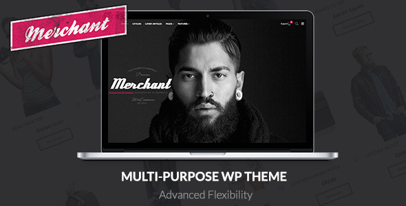 Merchant – Responsive WordPress Theme