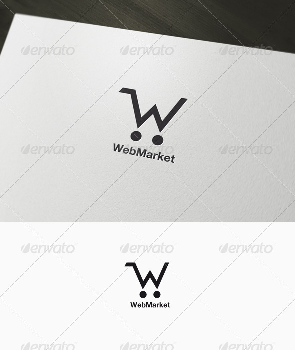 E-commerce Logo - Letters Logo Templates
