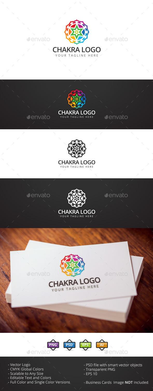 Chakra Logo - Symbols Logo Templates