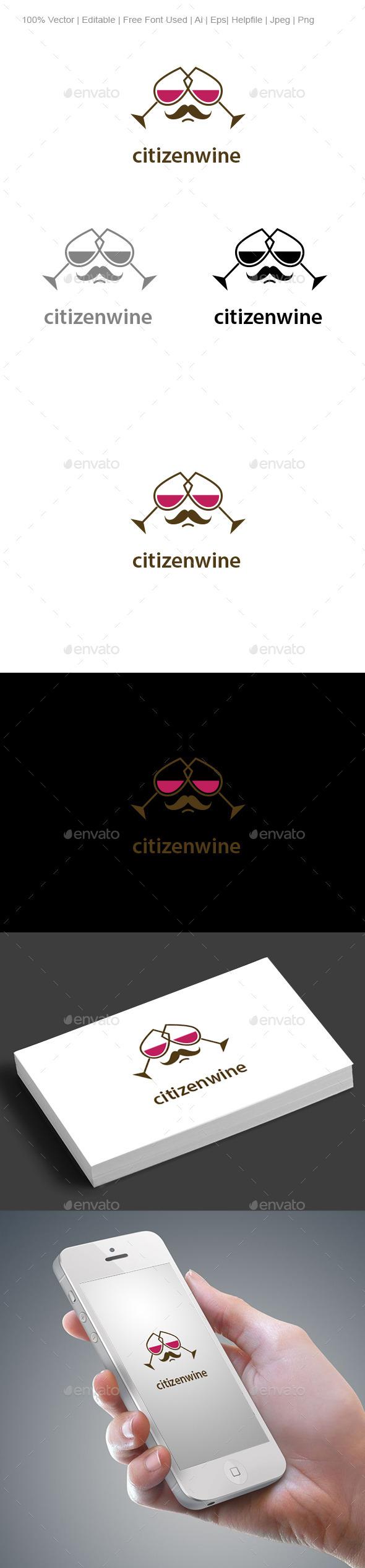 Citizenwine - Humans Logo Templates