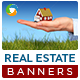 Real Estate Agent Banners - GraphicRiver Item for Sale