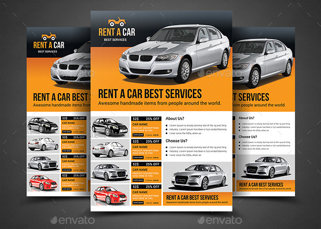 car flyer template akba katadhin co