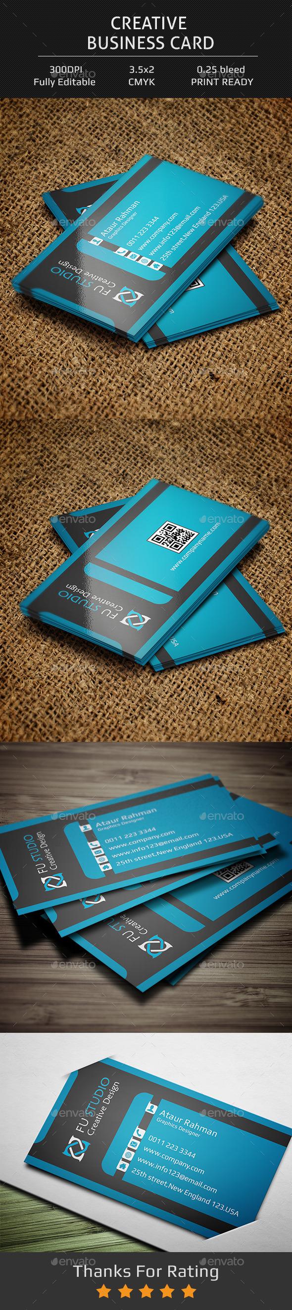 Creative Business Card V6 - Creative Business Cards