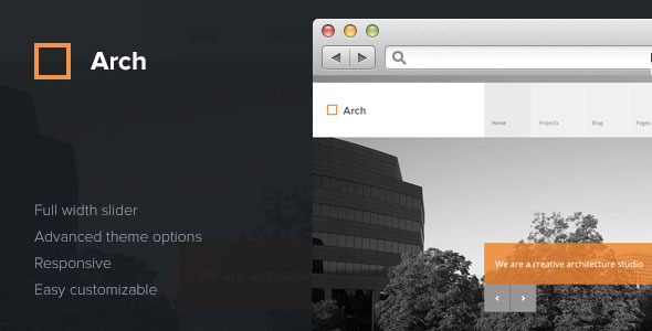 Arch - Responsive Architect WordPress Theme