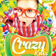 Crazy Kids Party Flyer Template - GraphicRiver Item for Sale