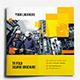 Square Tri-Fold Business Brochure - GraphicRiver Item for Sale
