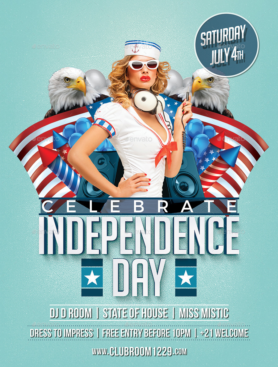 Good Independence Day Flyer Template   Holidays Events. 01_independenceday  02_independenceday 03_independenceday ...