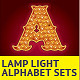 Lamp Light Alphabet Sets - GraphicRiver Item for Sale