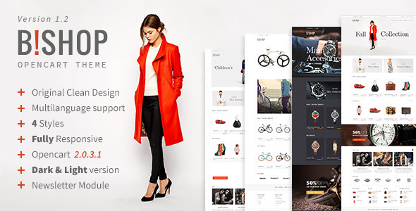 Bishop | Opencart Responsive Theme