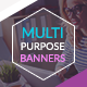 Multi Purpose Banners - GraphicRiver Item for Sale