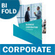 Corporate Company Bifold / Halffold Brochure - GraphicRiver Item for Sale