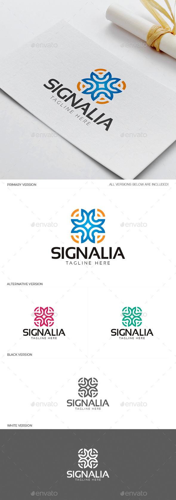 Signalia Logo - Objects Logo Templates