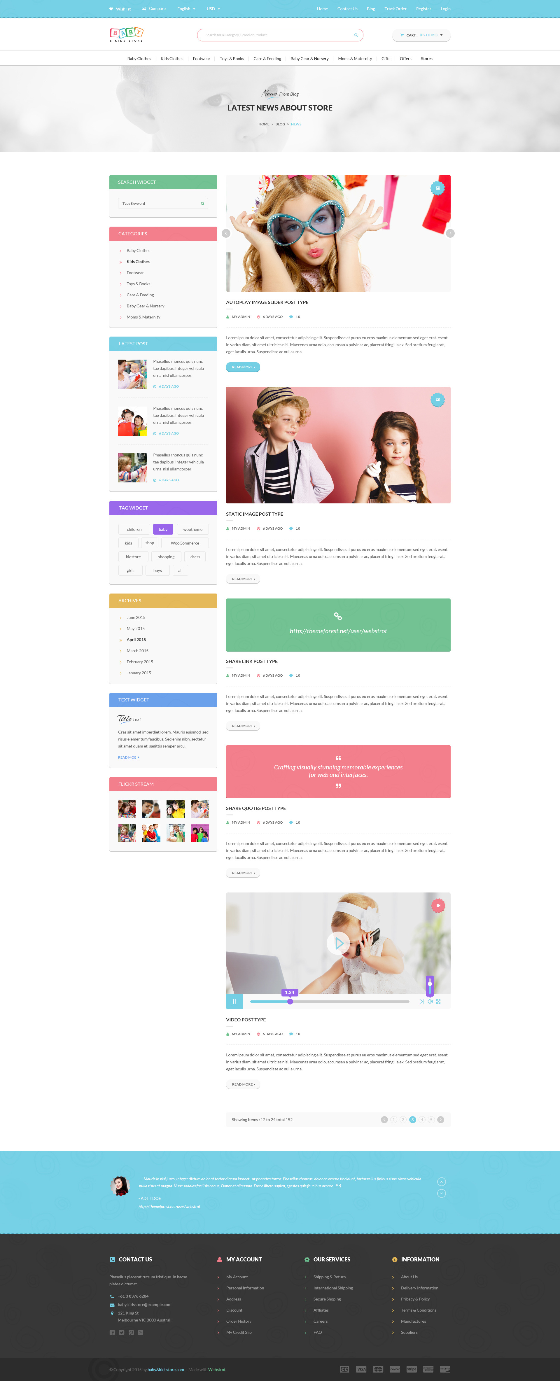 032049528 Baby   Kids Store eCommerce PSD Template by webstrot