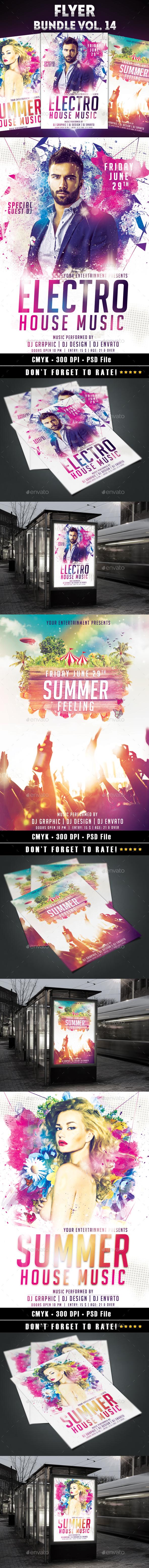 Flyer Bundle vol.14 - Clubs & Parties Events