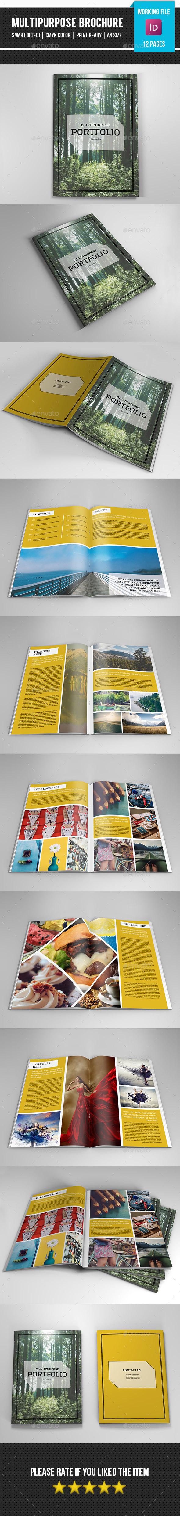 Multipurpose Portfolio Template-V266 - Corporate Brochures
