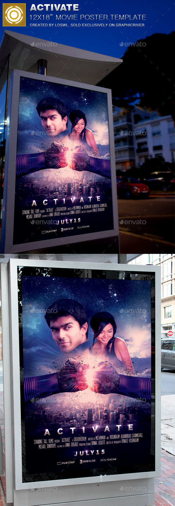 Activate Movie Poster Template - Miscellaneous Events