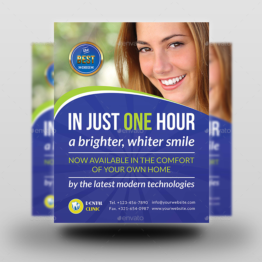 Dental Flyer Templates. medical flyer template by th studio ...