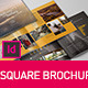 Square Brochure Indesign Template  - GraphicRiver Item for Sale