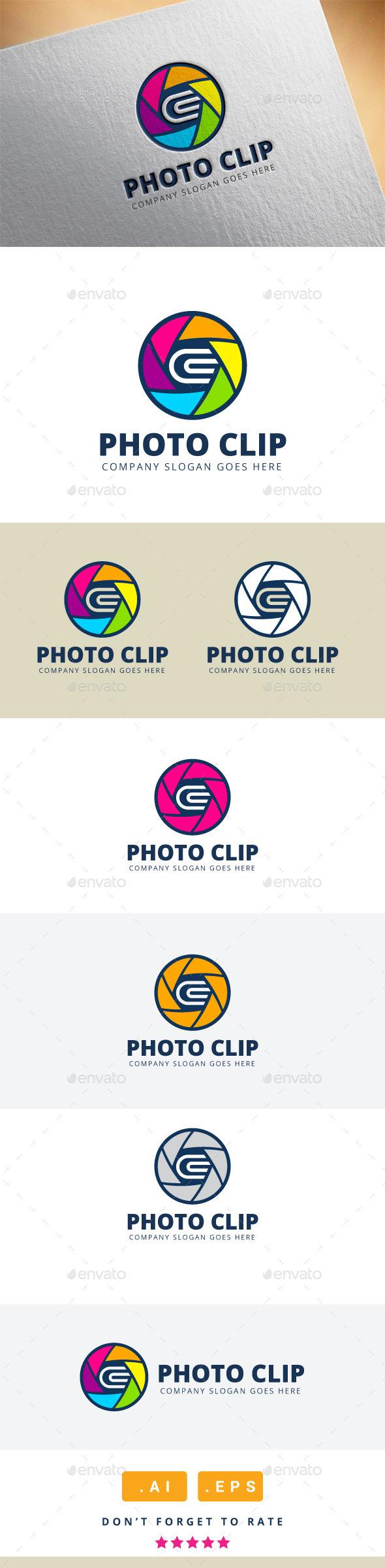 Photo Clip Logo - Logo Templates