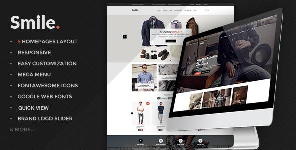 Smile – HTML E-commerce Template