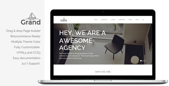 Grand – Creative Responsive Multipurpose Theme