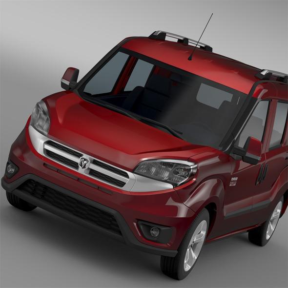 Ram ProMaster City Wagon SLT 2015 - 3DOcean Item for Sale