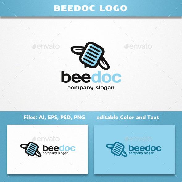 BeeDoc Logo - Symbols Logo Templates