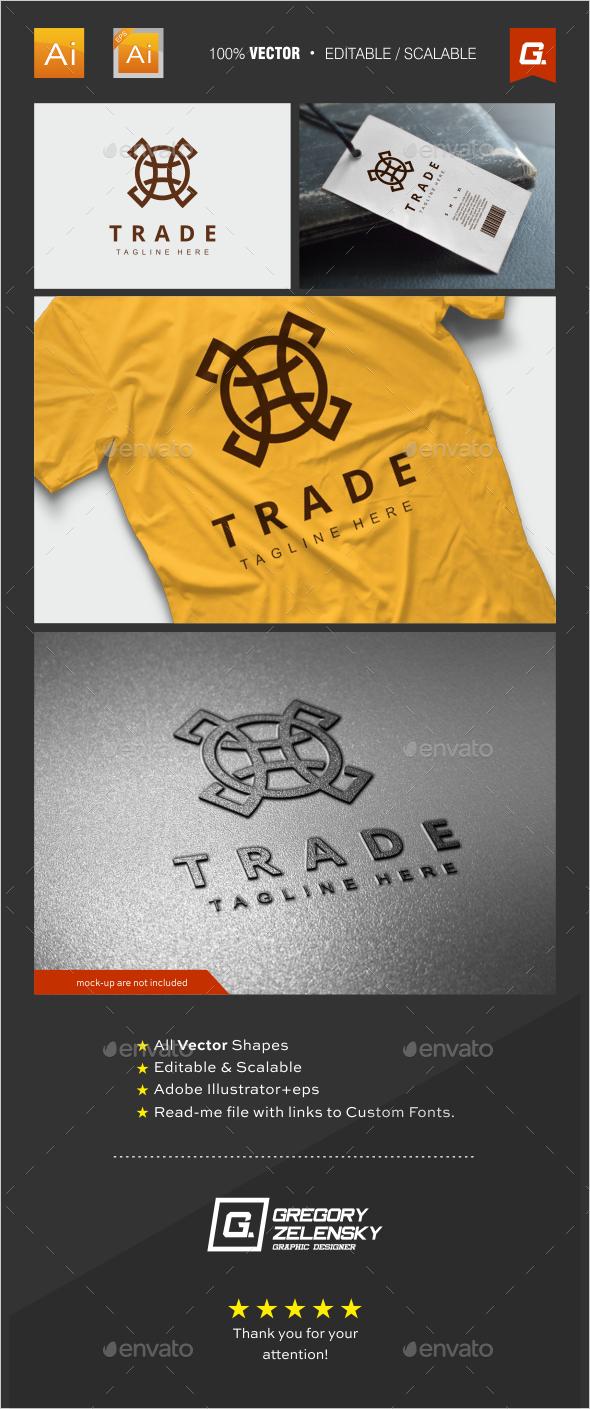 Trade Logo Template - Crests Logo Templates