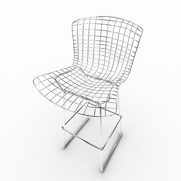 Bert Stool Chair - 3DOcean Item for Sale