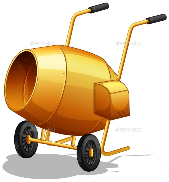 Cement Mixer - Miscellaneous Conceptual